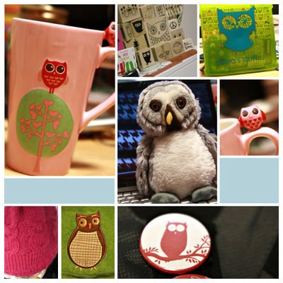 I love owls collage