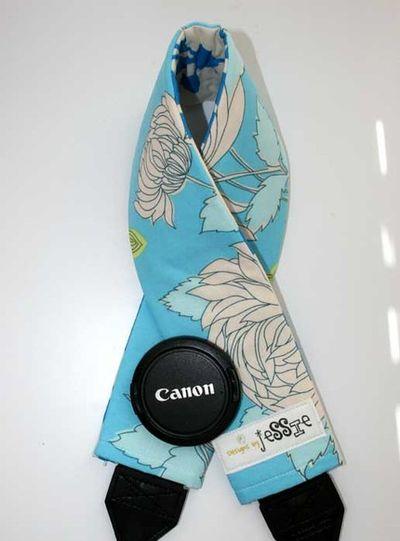 Blue strap