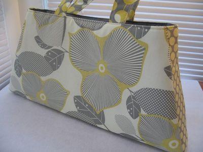 Yellow grey bag