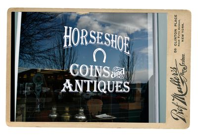 Blaine antiques framed