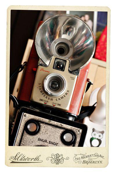 Cameras framed