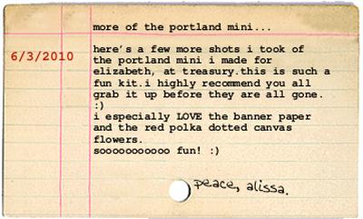 Blog entry 6.3.2010