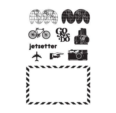 Sc jet setter stamps