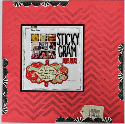 Sticky-gram