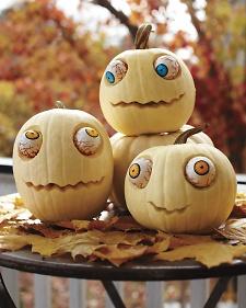 Zombie-pumpkins