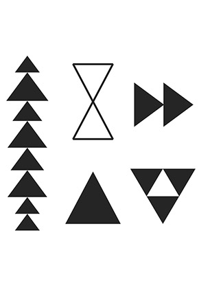 Triangles stamp in main