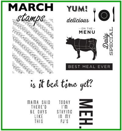 March stamps