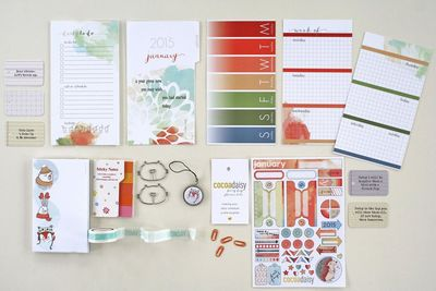 Jan Personal Day Planner Kit