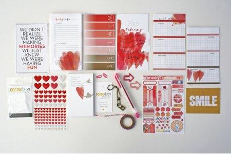 Feb personal planner kit